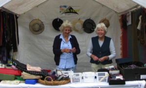 The popular new Accessory stall